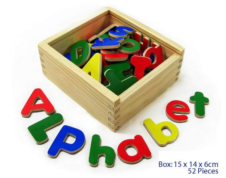 Magnetic Alphabet Set - $15