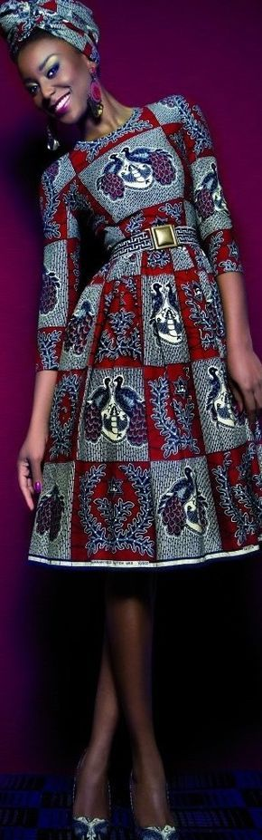 Lena Hoschek ~Latest African fashion, Ankara, kite…