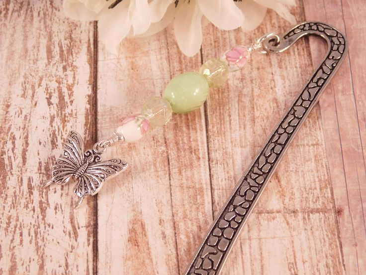 A personal favorite from my Etsy shop https://www.etsy.com/listing/554817918/butterfly-bookmark-metal-bookmark