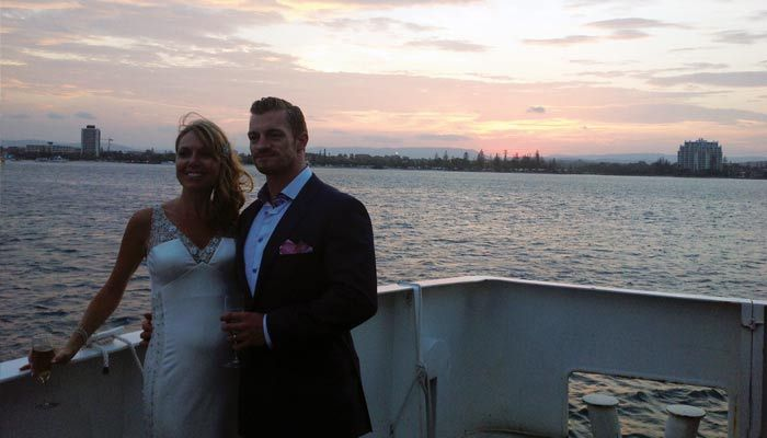 Sunset shots on the water with Showboat Cruises