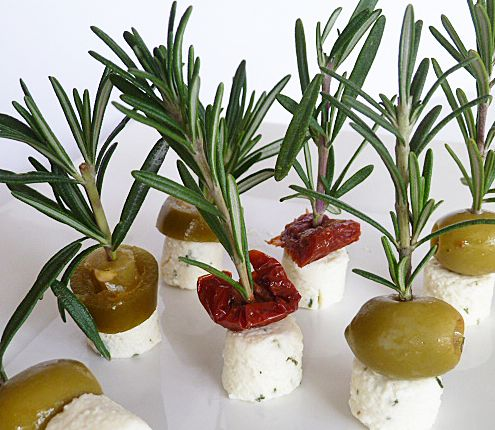 Amuse Bouche and Canapes -