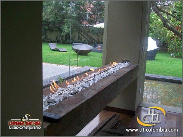 http://www.dticolombia.com/inicio Instalación de Chimeneas a Gas en Bogotá Colombia. D.T.I. Colombia. Tel : (57-1) 8052257 - 8052269