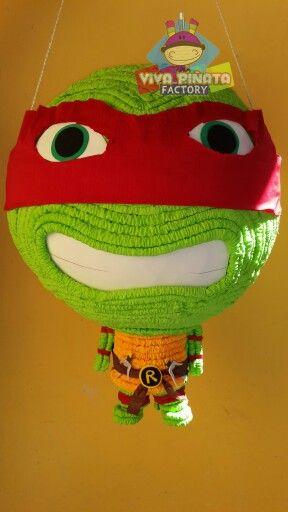 Ya no busques mas... en #VivaPiñataFactory ya tenemos piñatas de las Tortugas Ninja. Cual es tu favorita?