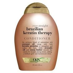 OGX Ever Straight Brazilian Keratin Therapy Conditioner - 13 fl oz