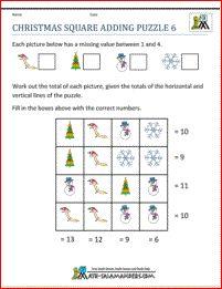 34 best Christmas Math images on Pinterest  Math activities