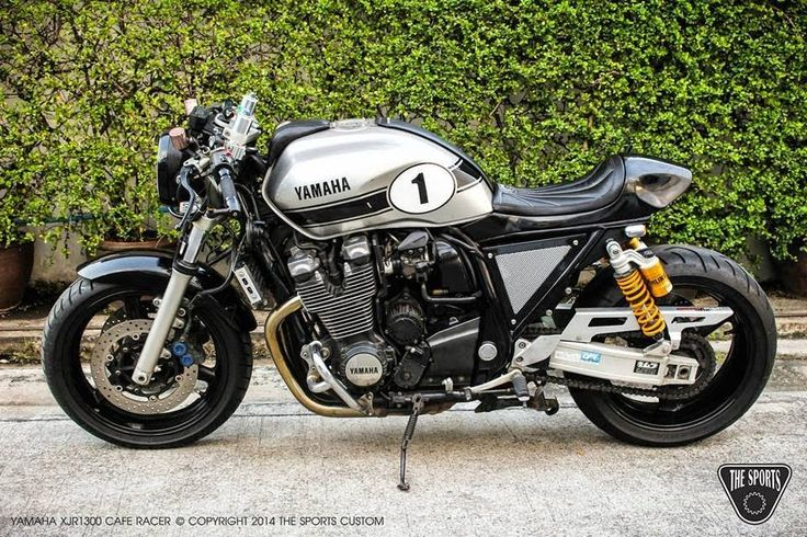 Yamaha XJR1300 Cafe Racer - Grease n Gasoline