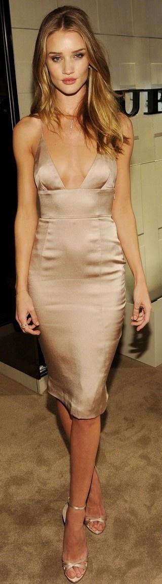 pastel silk/saten dress