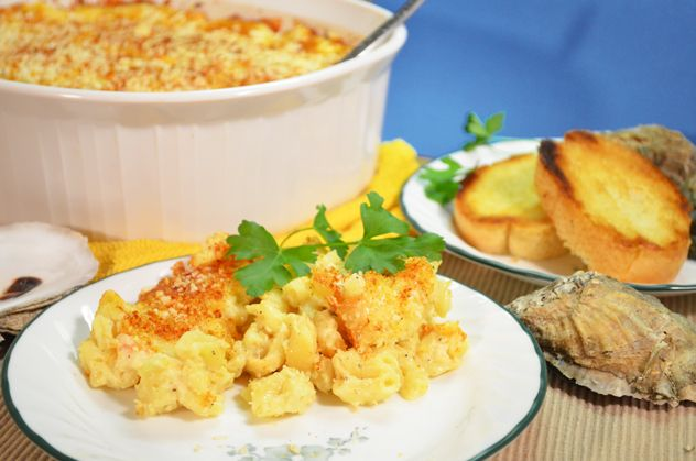 Seafood Mac and Cheese Recipe... this is quite a conundrum..... pin to pasta.. or seafood? LOL
