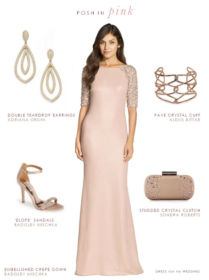 437 best images about blush wedding ideas on pinterest for Wedding guest dress blush pink