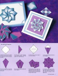 Origami by Olívia: Mandalas com diagrama!                                                                                                                                                      Mais