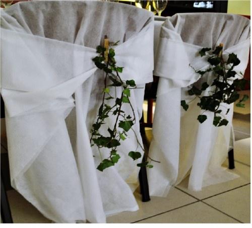 100 housses de chaises en voile d hivernage pais mariage pinterest weddings. Black Bedroom Furniture Sets. Home Design Ideas