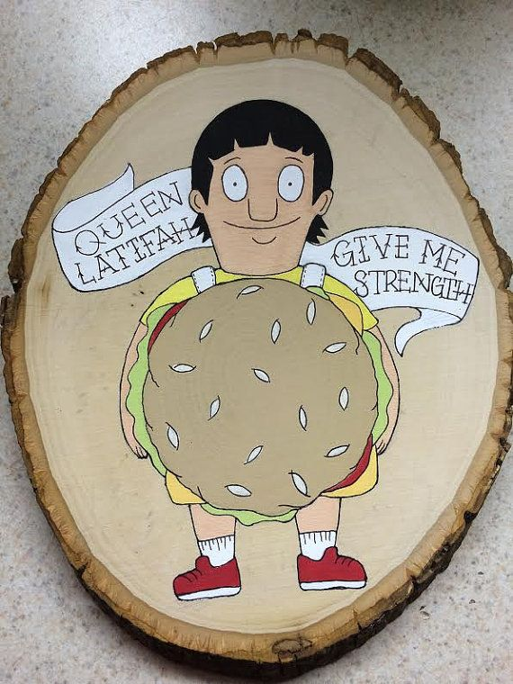 Gene Belcher Bob's Burgers Wood Plank Painting by ThePopperie