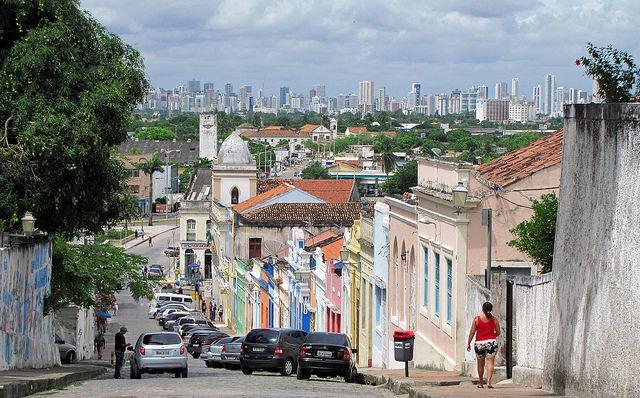 海外旅行世界遺産 オリンダ歴史地区 ブラジルの絶景