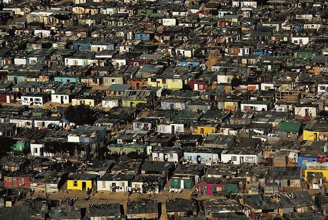 South Africa Cape Town - SuburbsCreated by Yann Arthus Bertrand