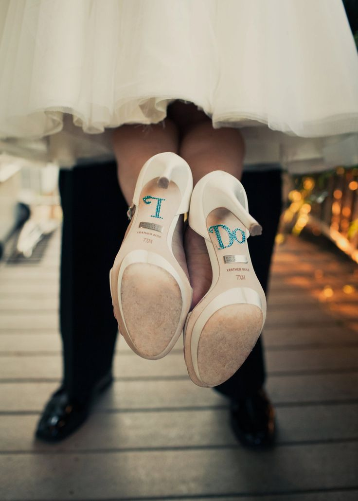 something blue - #wedding #heel #decals www.CharmingGraceEvents.com  Love this for my something blue!