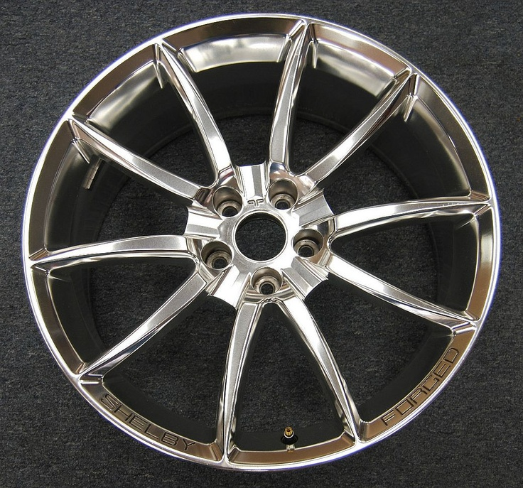 Alcoa Wheels  (Shelby Forged Super Snake Used Rims)