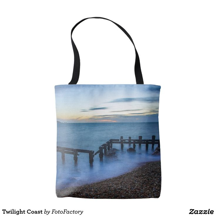 Twilight Coast Tote Bag