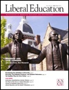 President David Oxtoby discusses the value of arts in a liberal arts education an bylined article in Liberal Education, the magazine of the Association of American Colleges and Universities.