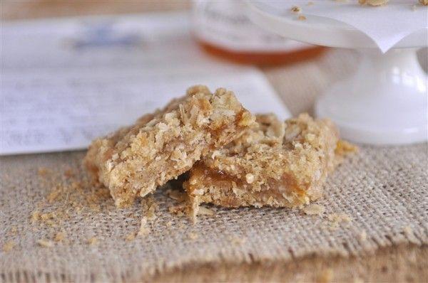 Apricot Jam Bar Cookies  breakfast bars
