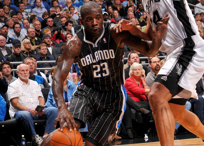 Jason Richardson, Orlando Magic. 23 décembre 2010, vs Spurs.