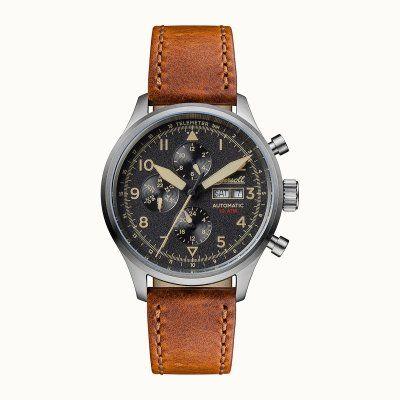 Velké a výrazné pánské hodinky Ingersoll THE BATEMAN AUTOMATIC I01901. Strojek je mechanický s automatickým nátahem. Hodinky ukazují čas, den v týdnu, rok,…