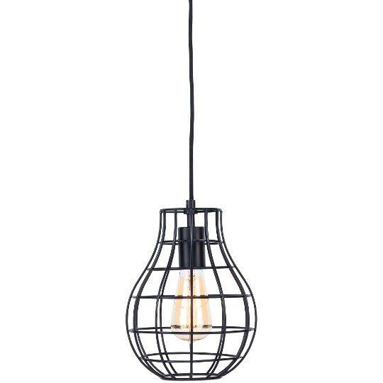 Lampa wisząca czarna Pittsburgh - It's About RoMi - Atrakcyjna cena, opinie - PITTSBURGH/H/B - Twojemeble.pl