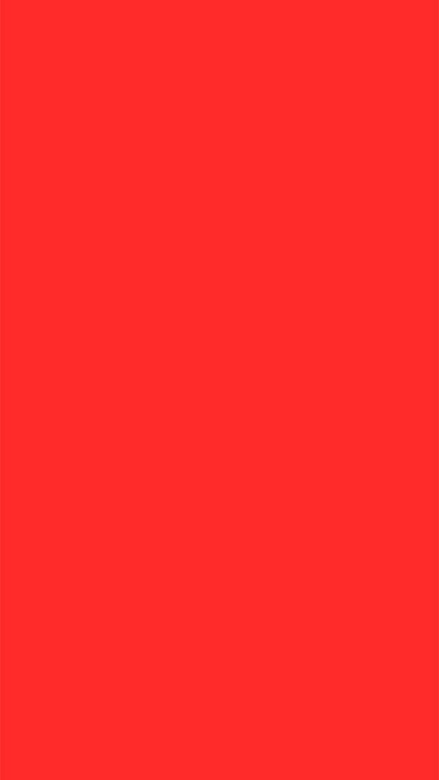 Plain red wallpaper for iPhone 5/6 plus Solid color