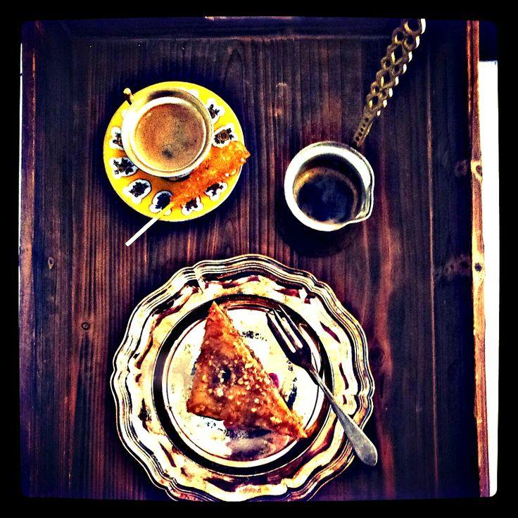 Baklava: photo session for cookbook