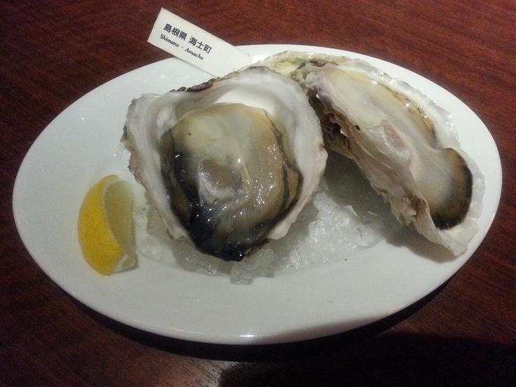 海士町産「島根県」¥660 きれいな海で生産者が手間隙惜しまず育て上げる。弾力があり、口に入れると濃厚なエキスが広がります。