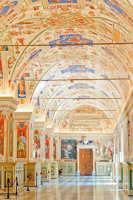 Vatican Museum rome italy via flickr