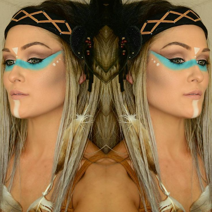native indian make up - Google Search