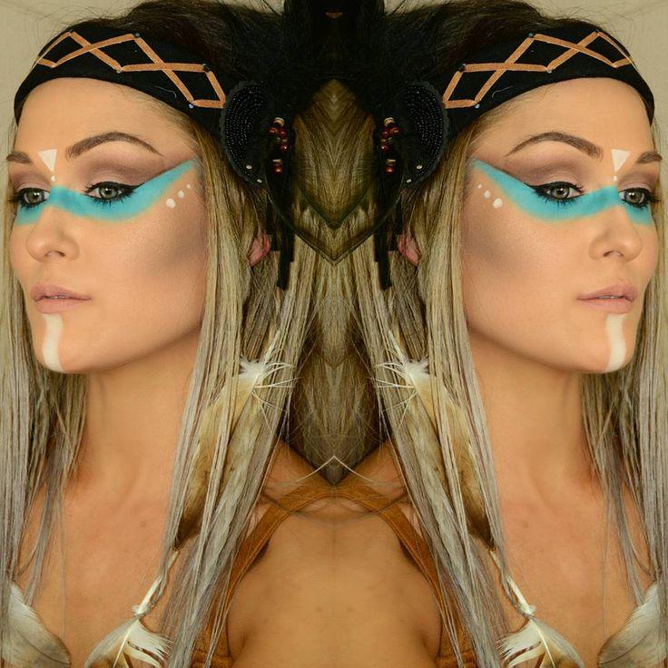 best 20 native american makeup ideas on pinterest