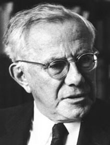 Paul Johannes Tillich (August 20, 1886 – October 22, 1965) was a German-American theologian and Christian existentialist philosopher. Tillich was one of the most influential Protestant theologians of the 20th century.  Among the general populace, he is best known for his work The Courage to Be (1952).