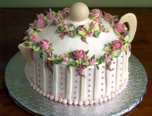 Как украсить торт. 35 фото