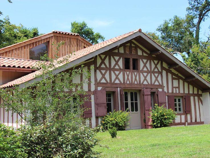 Belle maison à colombages entièrement rénovée design et située dans parc boisé - Landes | Homelidays