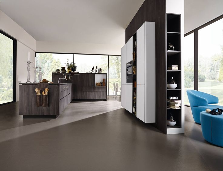 Modern kitchen new kitchen front by Alno in Caruba - the line is ...