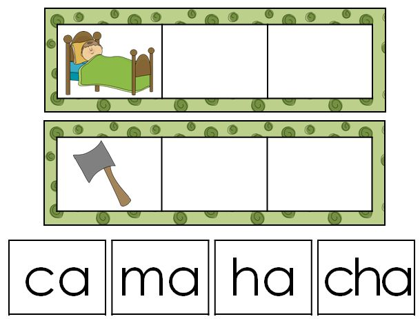 Spanish syllables and words with the letter a. 'Hands-on' literacy activities for Spanish reading and vocabulary.Great for bilingual and dual language classrooms.