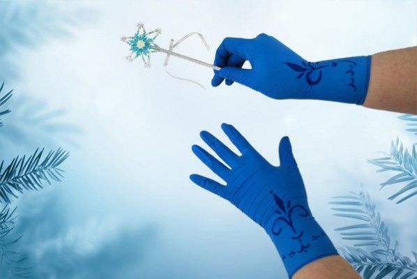 How to make Elsa's gloves for a Frozen costume