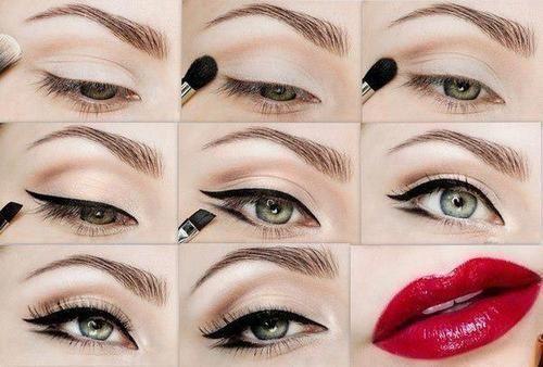Tutoriais de maquiagem para o dia a dia http://123estetica.com/lindissimos-tutoriais-de-maquiagem-para-o-dia-a-dia-ideal-para-iniciantes/: