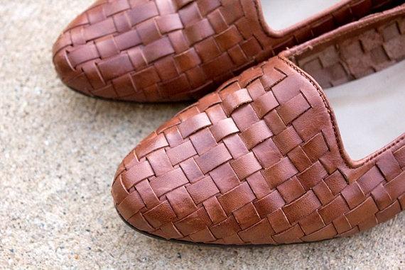 Vintage Leather Huaraches    www.sopasse.etsy.com
