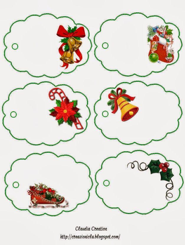 PARA IMPRIMIR: Stickers para regalos de Navidad                                                                                                                                                                                 Más