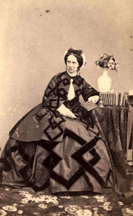 Portrait of Maria Alexandrovna, 1869