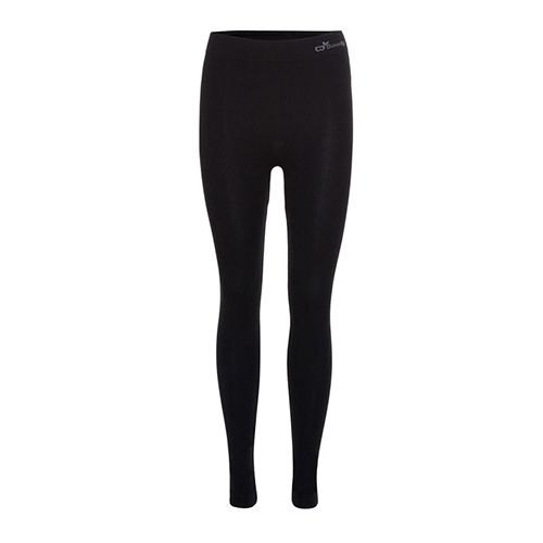 <p> Ultra light, comfortable and seam free. These full length leggings have a lustrous finish and a wide waistband for comfort. Naturally sustainable, made from organic bamboo yarn.</p>