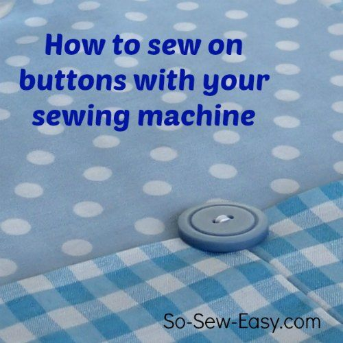 I was always worried I'd break the needle or the button, but not now I've seen this.  I can do it!