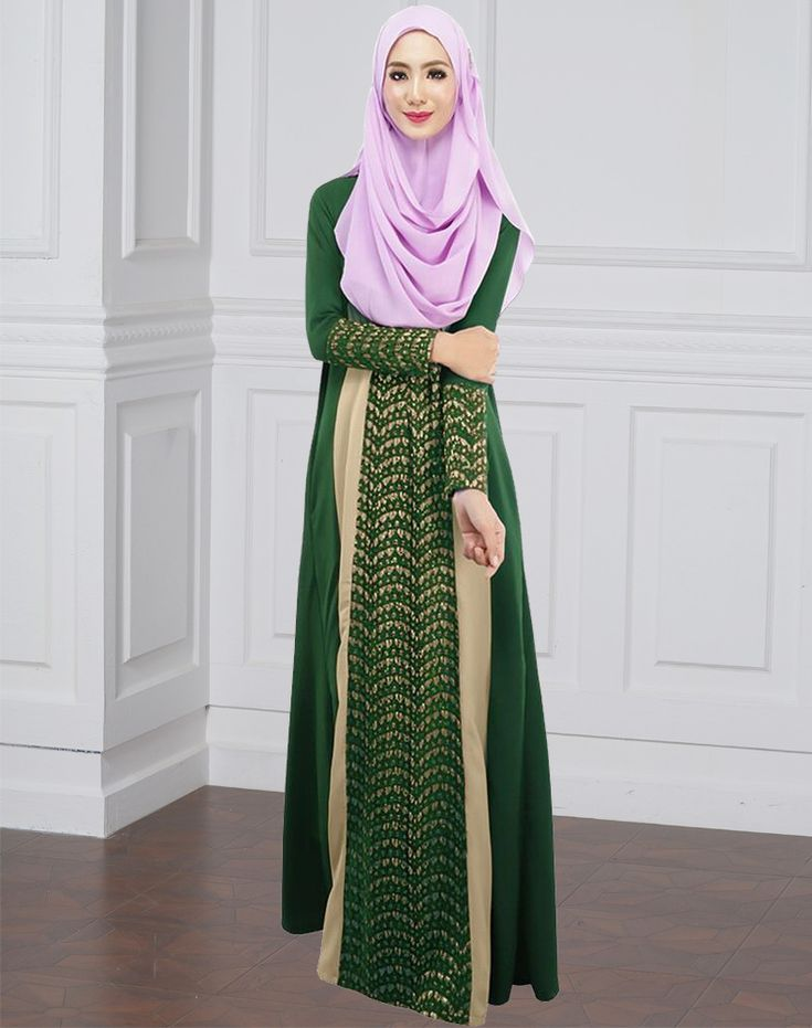 51 best Muslim Dresses images on Pinterest | Moslemkleid, Maxi ...