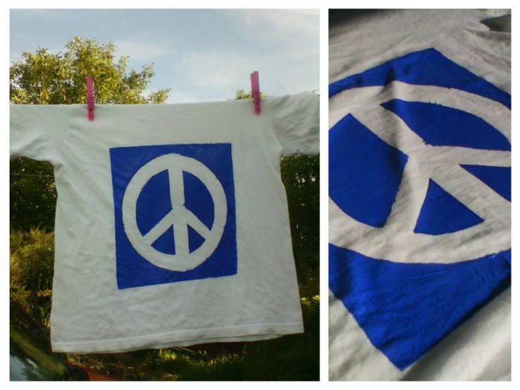 t-shirt :) peace