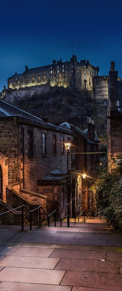 Edinburgh Castle, Scotland, UK - Must See Castles in Scotland.
