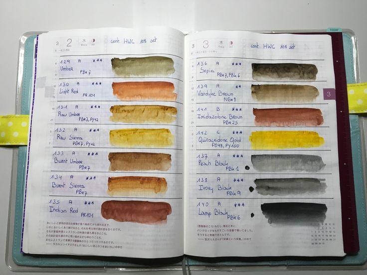 Mejores 71 imágenes de My Color Swatches en Pinterest | Muestras de ...