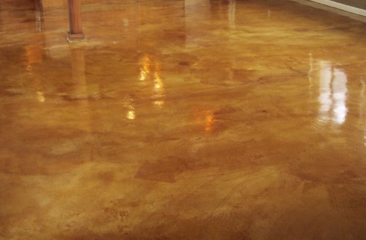Rustic Tan And Weathered Wheat Acid Stain W Foundation