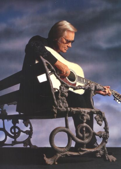 George Jones RIP, forever in our hearts and on my radio. Soundtrack to our lives and will never be forgotten ❤